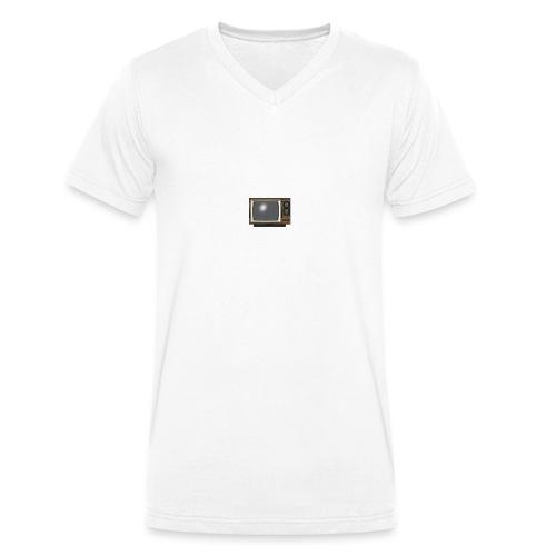 la télé - T-shirt bio col V Stanley & Stella Homme