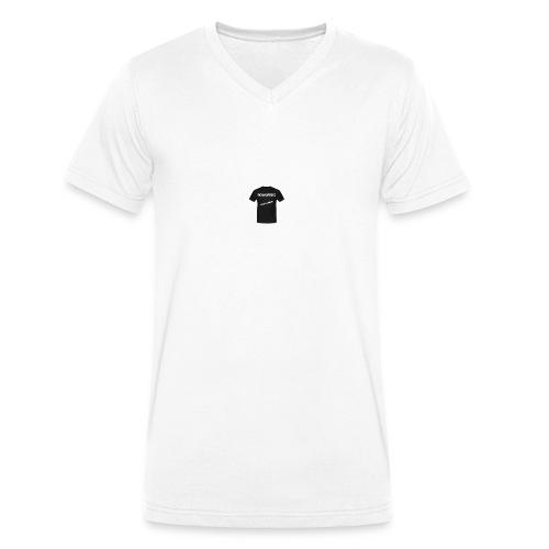 t-shirt-png - Mannen bio T-shirt met V-hals van Stanley & Stella
