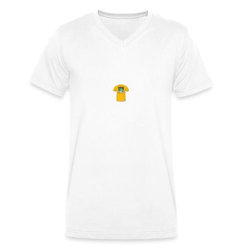 Castle design - Økologisk Stanley & Stella T-shirt med V-udskæring til herrer