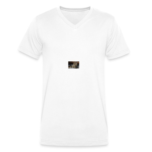ILOVECATS Polo - Mannen bio T-shirt met V-hals van Stanley & Stella