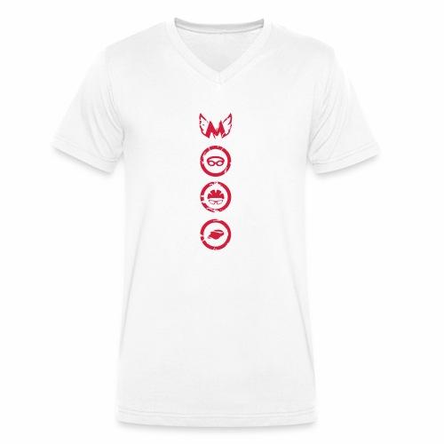 Mosso_run_swim_cycle - T-shirt ecologica da uomo con scollo a V di Stanley & Stella