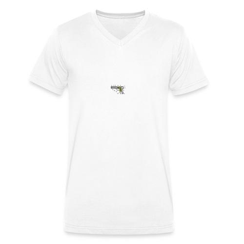 rickard - Ekologisk T-shirt med V-ringning herr från Stanley & Stella