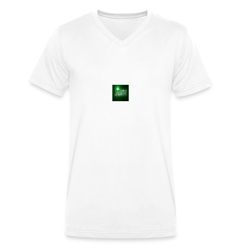 jgn_logo- - Mannen bio T-shirt met V-hals van Stanley & Stella
