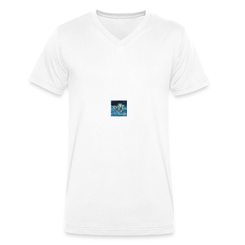 hundefreunde - Männer Bio-T-Shirt mit V-Ausschnitt von Stanley & Stella