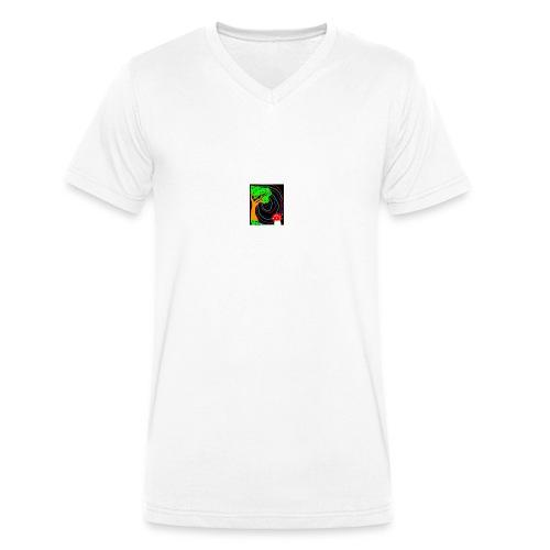 FB_IMG_1449184927420-jpg - T-shirt ecologica da uomo con scollo a V di Stanley & Stella