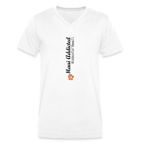 MAddLogoVert ai - Men's Organic V-Neck T-Shirt by Stanley & Stella