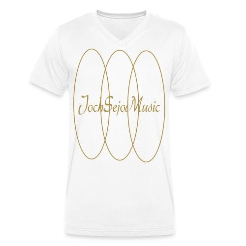 JochSejo Design Tee - Ekologisk T-shirt med V-ringning herr från Stanley & Stella