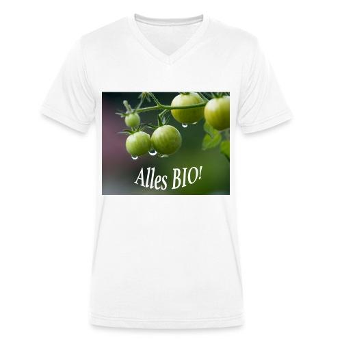 Alles BIO - Männer Bio-T-Shirt mit V-Ausschnitt von Stanley & Stella