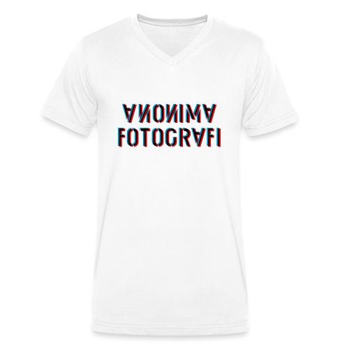 anonimafotografi - T-shirt ecologica da uomo con scollo a V di Stanley & Stella