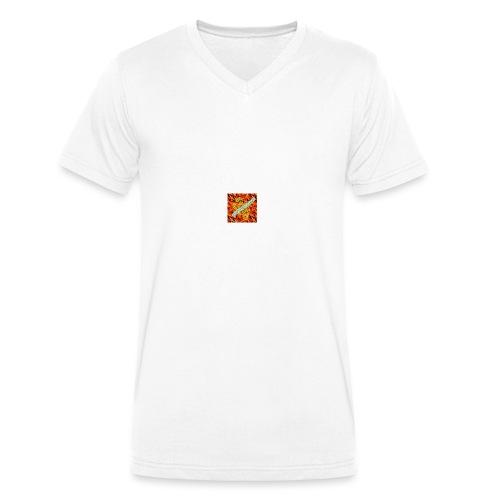 sverimasken2 - Ekologisk T-shirt med V-ringning herr från Stanley & Stella