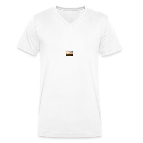 Sonnenuntergang - Männer Bio-T-Shirt mit V-Ausschnitt von Stanley & Stella