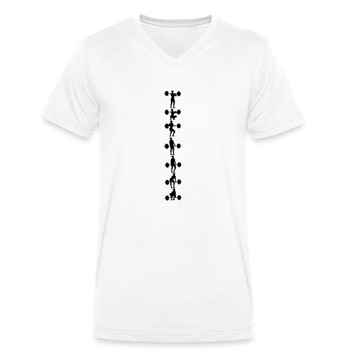 Umsetzen Serie hoch Frau - Männer Bio-T-Shirt mit V-Ausschnitt von Stanley & Stella