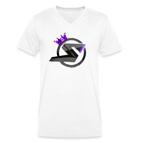 dtsp png - Männer Bio-T-Shirt mit V-Ausschnitt von Stanley & Stella