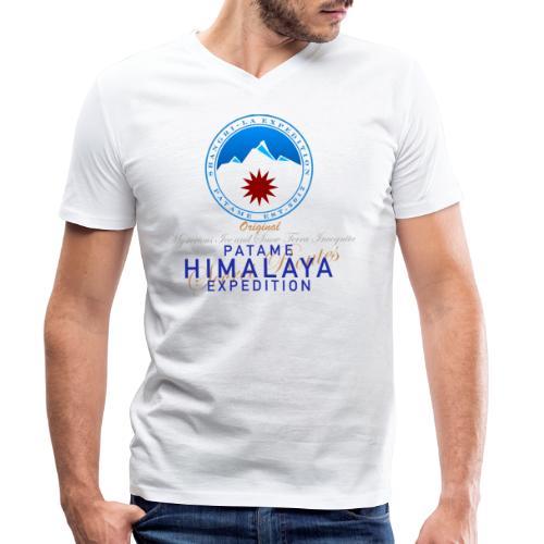 Himalaya Shangri-La Terra Incognita - Männer Bio-T-Shirt mit V-Ausschnitt von Stanley & Stella