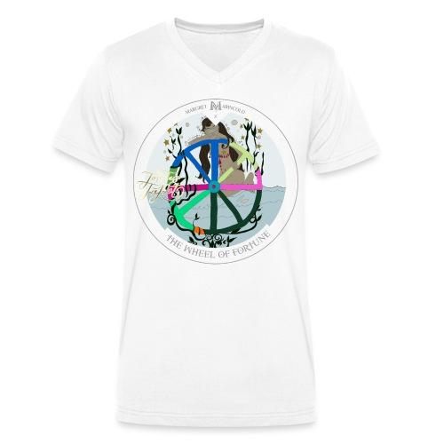 The Wheel of Fortune | Rad des Schicksals Tarot - Männer Bio-T-Shirt mit V-Ausschnitt von Stanley & Stella