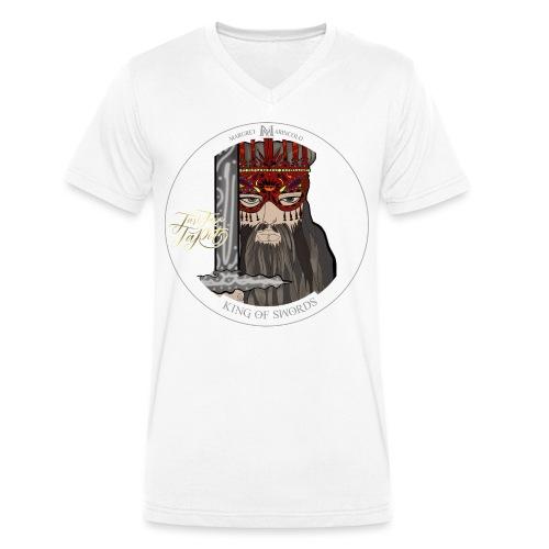 King of Swords | König der Schwerter Tarot Karte - Männer Bio-T-Shirt mit V-Ausschnitt von Stanley & Stella