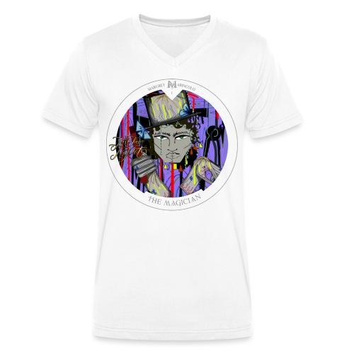 The Magician | Der Magier Tarot Karte - Männer Bio-T-Shirt mit V-Ausschnitt von Stanley & Stella