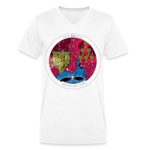 Seven of Cups | Sieben der Kelche Tarot Karte - Männer Bio-T-Shirt mit V-Ausschnitt von Stanley & Stella