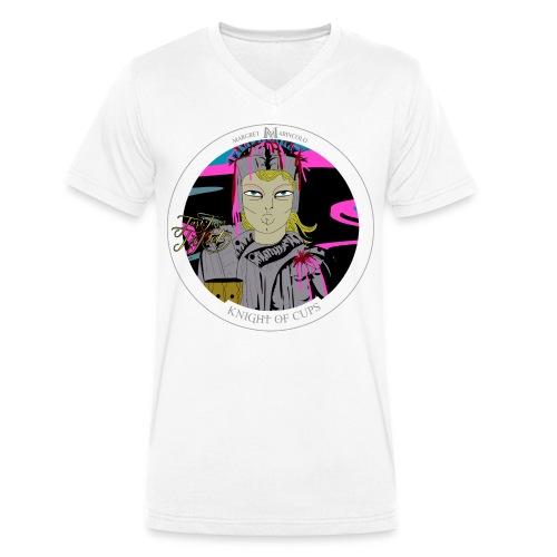 Knight of Cups | Ritter der Kelche Tarot Karte - Männer Bio-T-Shirt mit V-Ausschnitt von Stanley & Stella