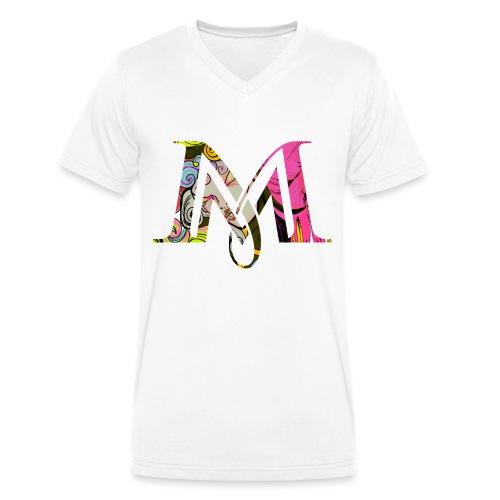 Magie Magic M   Tarot Design - Männer Bio-T-Shirt mit V-Ausschnitt von Stanley & Stella