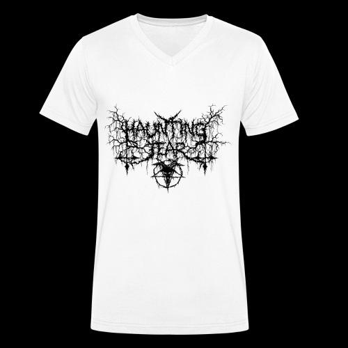 Logo Black Goat - T-shirt ecologica da uomo con scollo a V di Stanley & Stella