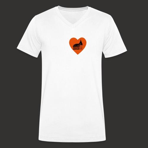 We love Kleinbrüchter Ruckbeutel - Männer Bio-T-Shirt mit V-Ausschnitt von Stanley & Stella
