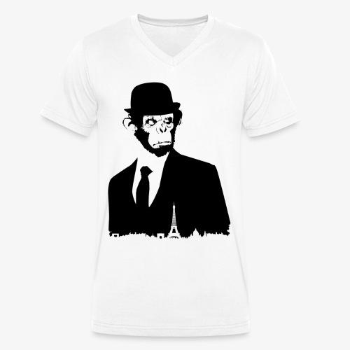 COLLECTION *BLACK MONKEY PARIS* - T-shirt bio col V Stanley & Stella Homme