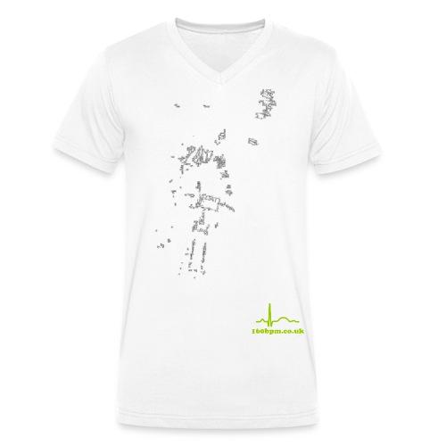 night7 - Men's Organic V-Neck T-Shirt by Stanley & Stella