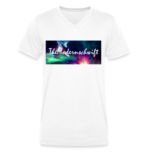 TheModernschwift - Men's Organic V-Neck T-Shirt by Stanley & Stella
