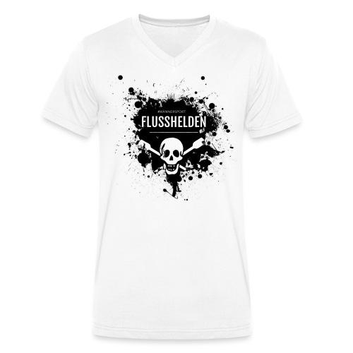 Kandler Flusshelden - Männer Bio-T-Shirt mit V-Ausschnitt von Stanley & Stella