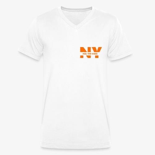 feel the Vibes - Männer Bio-T-Shirt mit V-Ausschnitt von Stanley & Stella