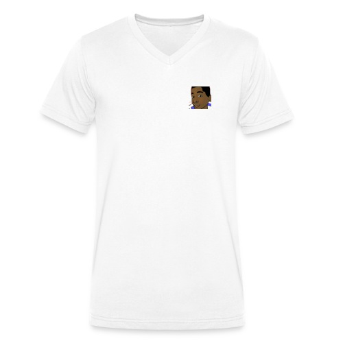 awesome merch - Men's Organic V-Neck T-Shirt by Stanley & Stella