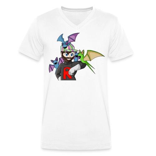 AJ and Zubat - Men's Organic V-Neck T-Shirt by Stanley & Stella