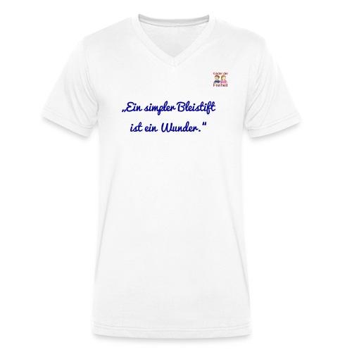 Bleistift 2 - Männer Bio-T-Shirt mit V-Ausschnitt von Stanley & Stella