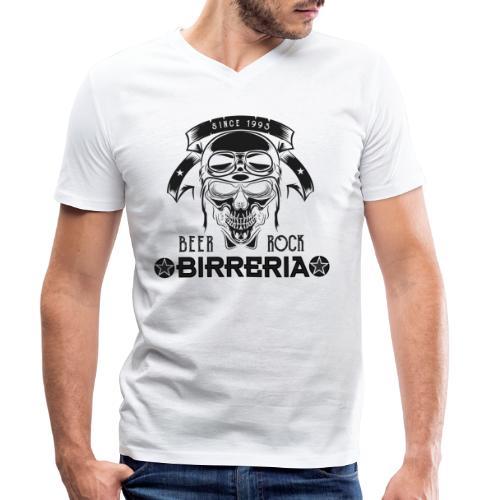 Classic Birreria Rock Skull - Männer Bio-T-Shirt mit V-Ausschnitt von Stanley & Stella