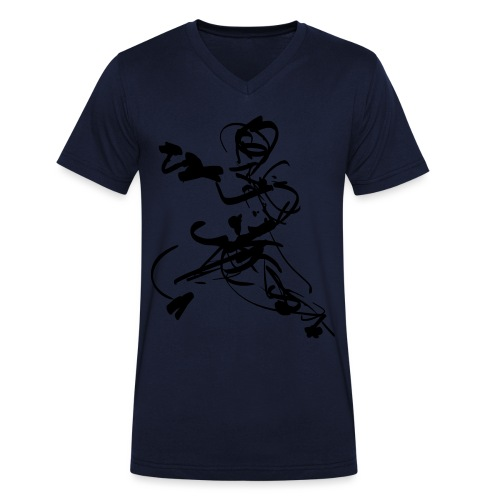mantis style - Men's Organic V-Neck T-Shirt by Stanley & Stella