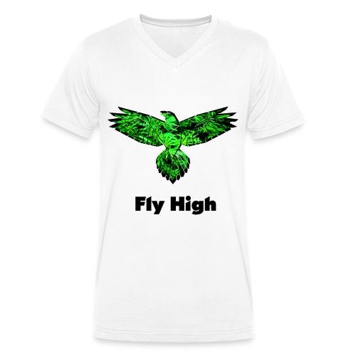 Fly High - Männer Bio-T-Shirt mit V-Ausschnitt von Stanley & Stella