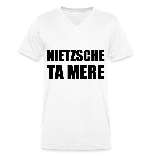 nietzsche - T-shirt bio col V Stanley & Stella Homme