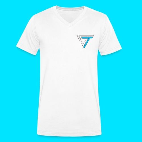 somsteveel kleding en accessoires - Mannen bio T-shirt met V-hals van Stanley & Stella