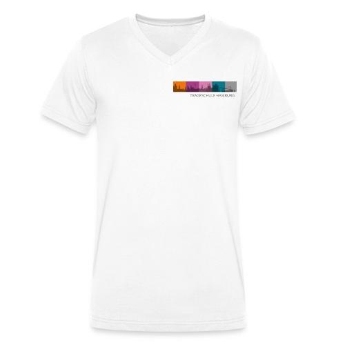 Trageschule Hamburg - Männer Bio-T-Shirt mit V-Ausschnitt von Stanley & Stella