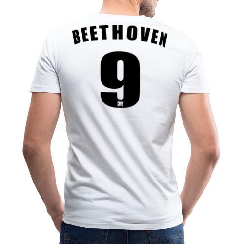 Beethoven 9 - Men's Organic V-Neck T-Shirt by Stanley & Stella