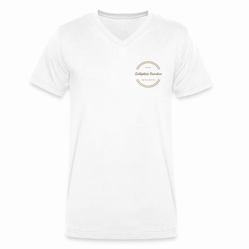 Schtephinie Evardson Premium Range - Men's Organic V-Neck T-Shirt by Stanley & Stella