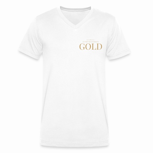 Schtephinie Evardson: Ultra Premium Gold Edition - Men's Organic V-Neck T-Shirt by Stanley & Stella