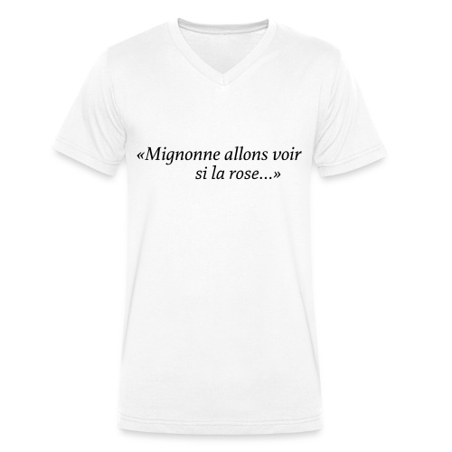 Mignonne - T-shirt bio col V Stanley & Stella Homme