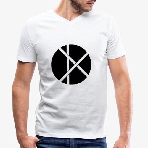 Don Logo - musta - Stanley & Stellan miesten luomupikeepaita