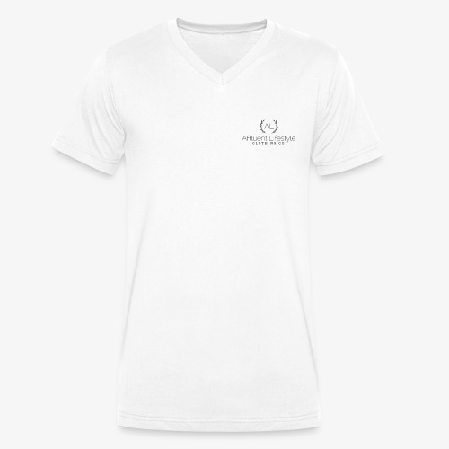 Affluent Lifestyle - Men's Organic V-Neck T-Shirt by Stanley & Stella