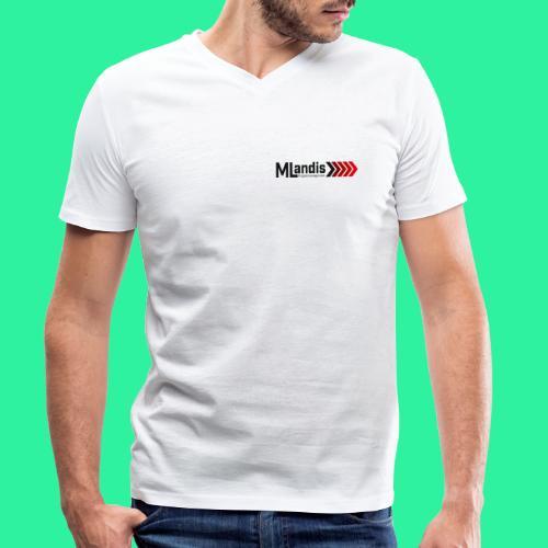 MLandis - Männer Bio-T-Shirt mit V-Ausschnitt von Stanley & Stella