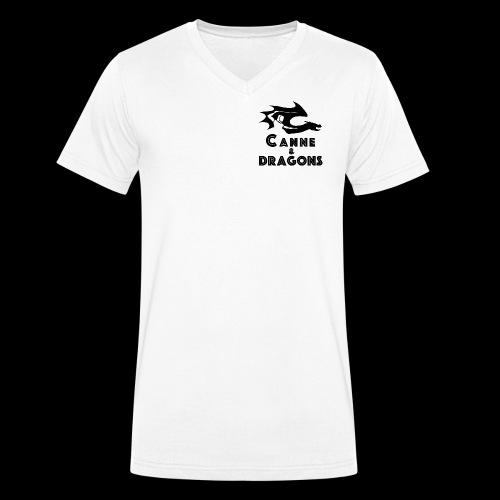 logoC D N B2 - T-shirt bio col V Stanley & Stella Homme