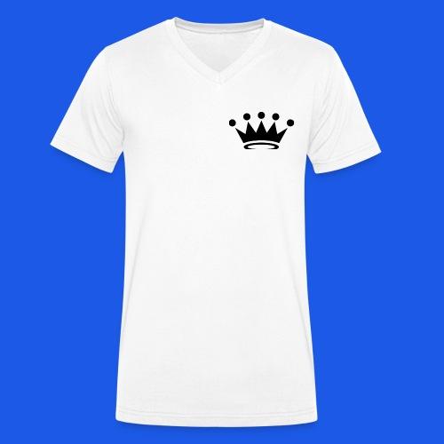 sebking04 - Økologisk T-skjorte med V-hals for menn fra Stanley & Stella