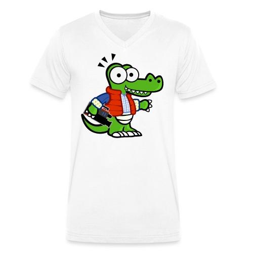 MyDealz - Männer Bio-T-Shirt mit V-Ausschnitt von Stanley & Stella